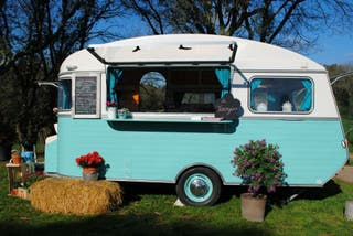 Caravana Constructam vintage foodtruck