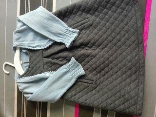 vestido con chaqueta niña 2-3