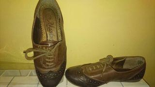 Zapatos mujer mustang marrón 36