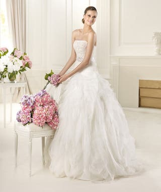 vestido de novia pronovias de segunda mano en gandía en wallapop