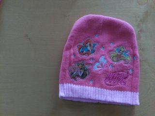 Gorro rosa princesas para niñas de 2-3 años