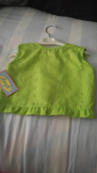 blusa de niña 6 meses