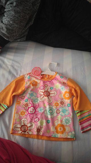 camisa de niña talla 12 meses