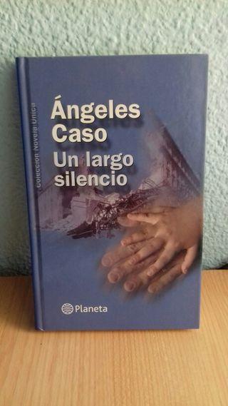 Libro Un largo silencio. Angeles Caso.