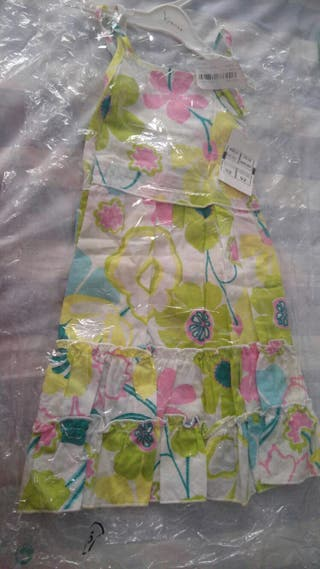 vestido de niña de 2 años