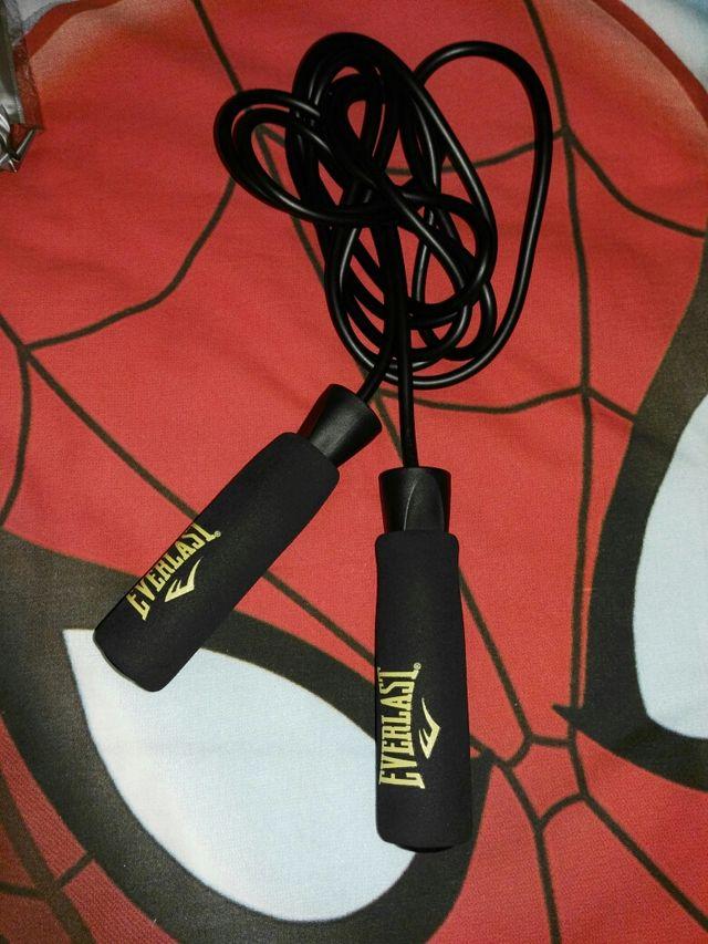 guantes boxeo 12oz, cuerda + vendas