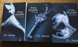 Trilogía 50 Sombras De Grey En Inglés