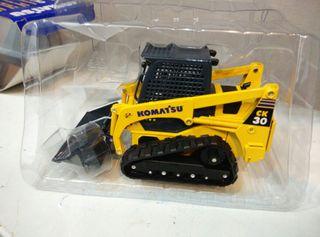 miniatura excavadora komatsu