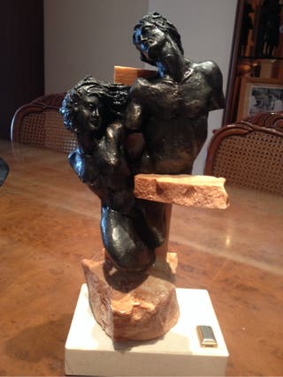 Escultura decorativa amor rebajada san valent n de segunda mano por 14 en sabadell en wallapop - Escultura decorativa ...