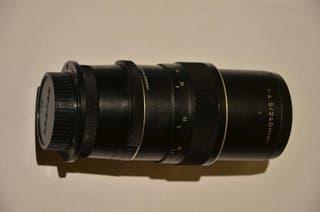 objetivo cámara fotos