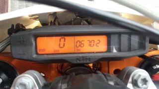 Moto ktm exc 500