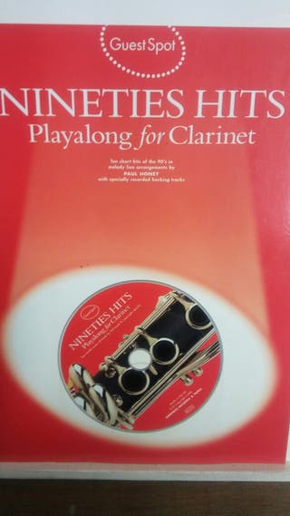 CLARINETE (NINETIES HITS) CON CD.