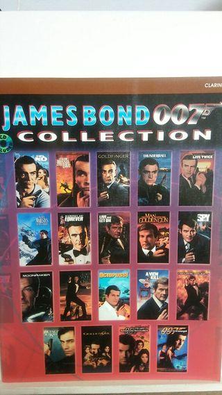 CLARINETE ( JAMES BOND 007 COLLECCION ) CON CD.