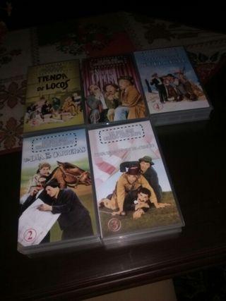 Colección VHS Los hermanos Mars