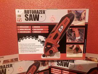 Rotoracer saw