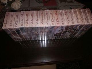 Colección VHS Don Quijote de la Mancha.