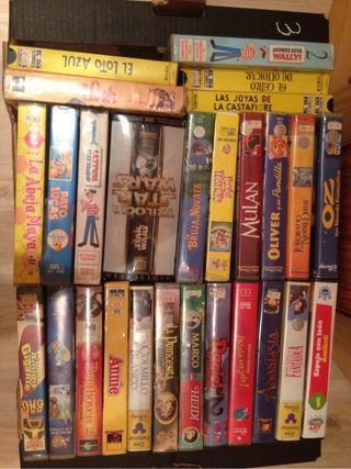 Películas VHS variadas (3)