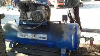 calefactor de gasoil compresor de aire industrial