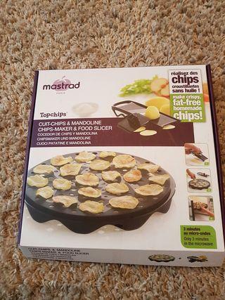 Maquina patatas fritas para hacer al microondas.