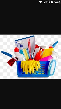 chica para limpiar