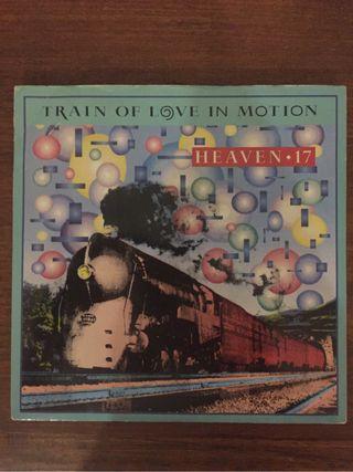 """HEAVEN 17 Train Of Love In Motion 7"""" Single"""