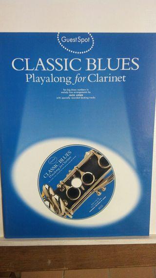 CLARINET ( CLASSIC BLUES ) CON CD.