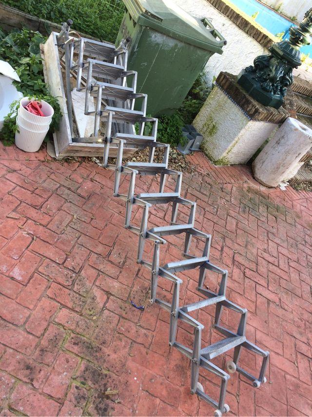Escalera plegable para altillo de segunda mano por 120 en sevilla en wallapop - Escalera plegable para altillo ...