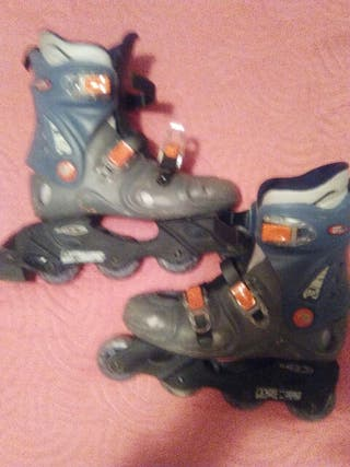 regalo rodilleras y guantes patines en linia 37