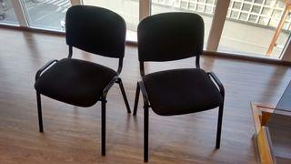 2 sillas de oficina