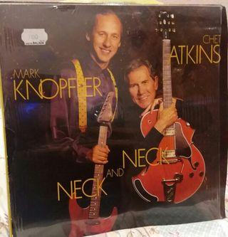 "LP ""Neck and Neck"" Mark Knopfler & Chet Atkins"