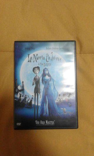 La novia cadaver dvd