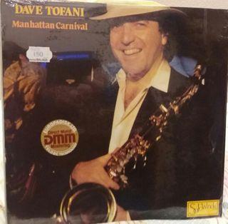 "LP de vinilo ""Manhattan Carnival"" de Dave Tofani."