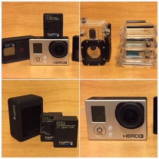 Gopro Hero 3 Black edition sin casi uso