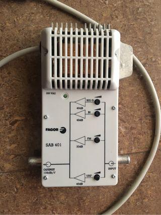 Amplificador señal de antena