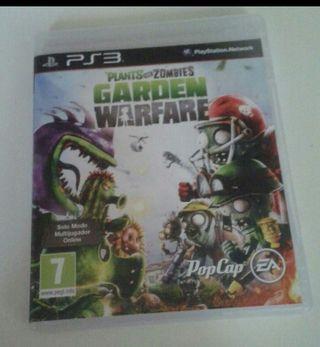 juego plant vs zombie ps3 nuevo