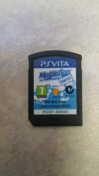 PS VITA MODNATION RACERS