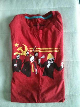 """Camiseta """"fiesta comunista"""""""