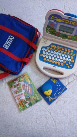 Ordenador portátil niño-niña