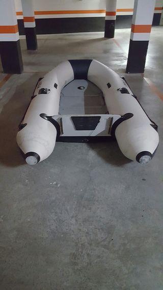 neumatica con quilla inchable y motor de 5cv