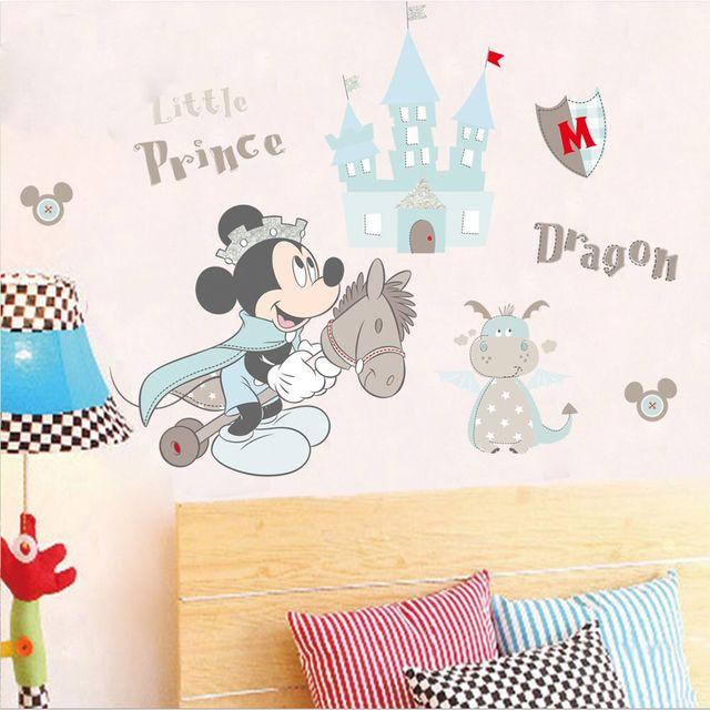 Vinilo Adhesivo. Mickey Disney. Castillo. Nuevo