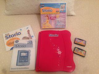 Tablet storio con dos juegos