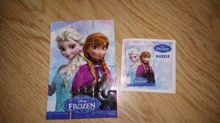 Mini puzzle gomaespuma Frozen Disney