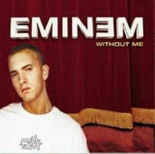 """EMINEM """"Without Me"""" CD Single"""