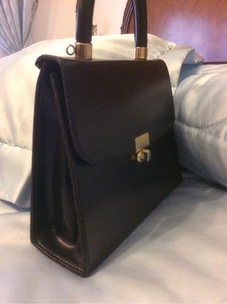 Bolso negro vintage