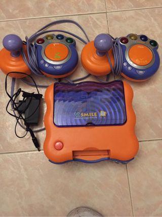Consola V Smile + 6 juegos