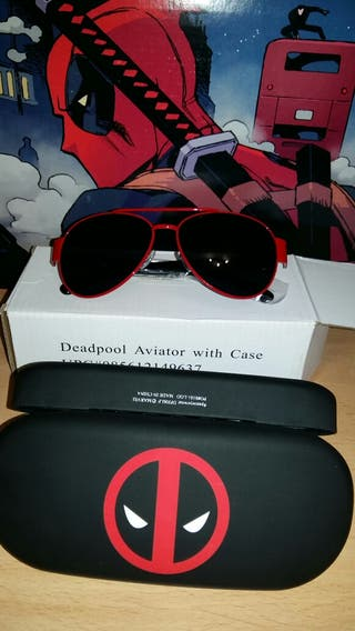 Gafas DEADPOOL de sol estilo Aviador