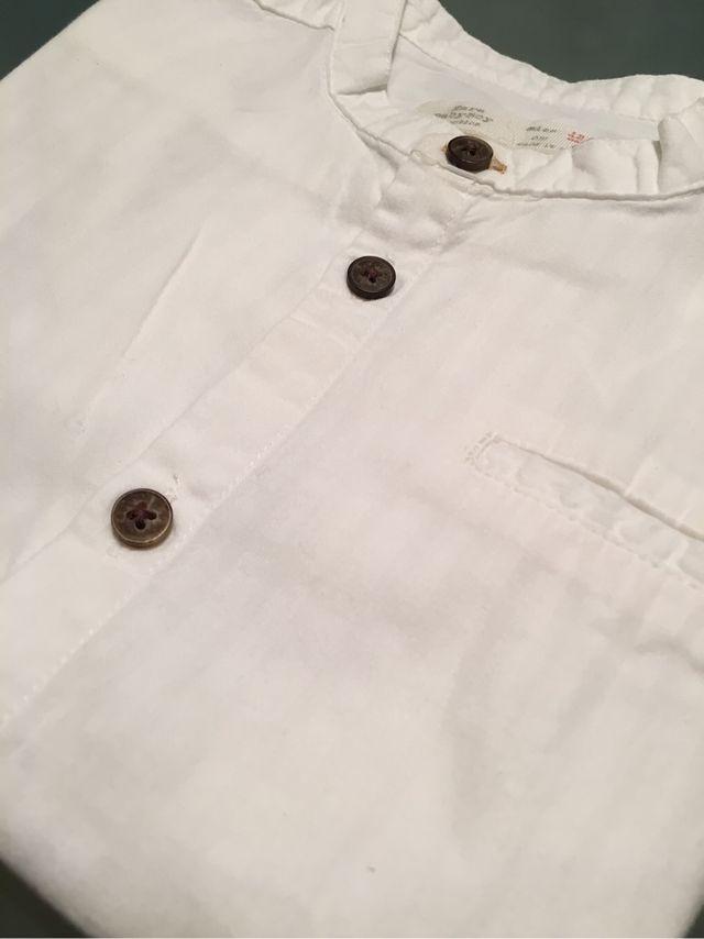 nuevo producto 82f50 5447a Camisa bebe ZARA KIDS talla 12-18 meses de segunda mano por ...