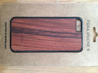Iphone 6 funda madera