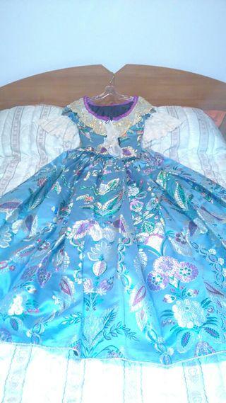 vestido Fallera
