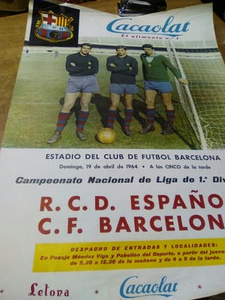 RCD Espanyol CF Barcelona 1964